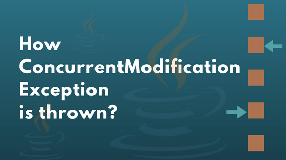 How ConcurrentModificationException is thrown?