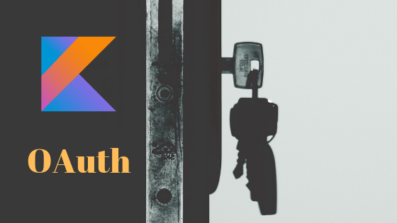 Secure web application with OAuth