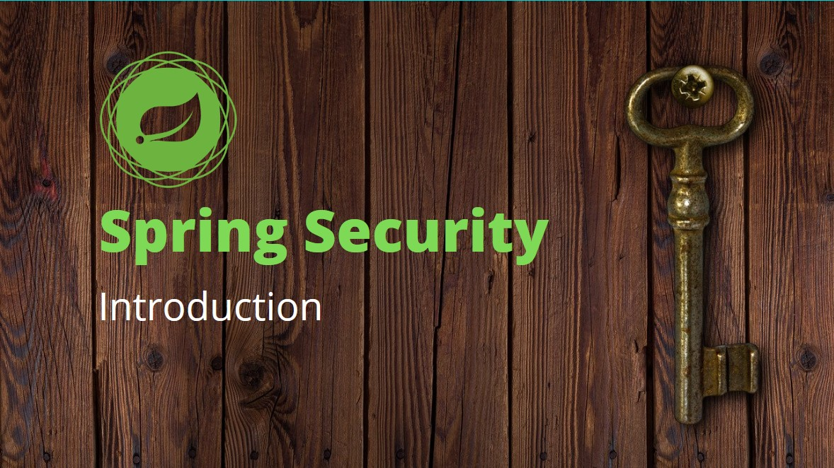 Spring Security Introduction