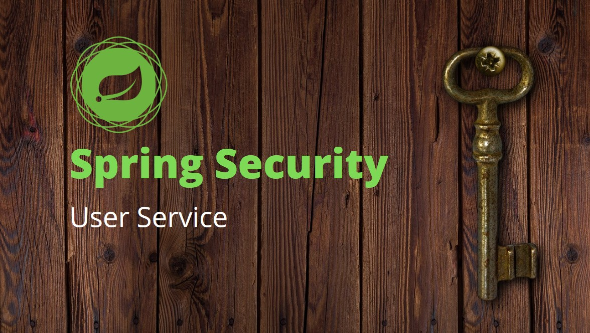 Spring Security User Service